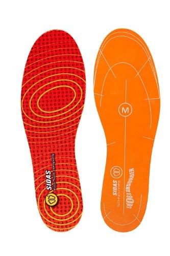 Sidas Erwachsene Impact Reducer Laufsohle, Orange/Rot, L : 42-43