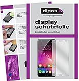dipos I 2X Schutzfolie klar passend für Oukitel K6000 Plus Folie Bildschirmschutzfolie