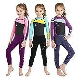 Kinder Neoprenanzug 2,5 MM Siamese Wetsuit warme Schnorcheln Surfen Quallen Kleidung Winter Bademode