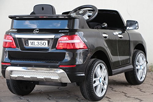 RC Kinderauto kaufen Kinderauto Bild 1: Kinder Elektro Auto Mercedes Benz ML350 2x25W 12V Elektroauto Kinderfahrzeug Ferngesteuert Elektro ml 350 (Schwarz)*