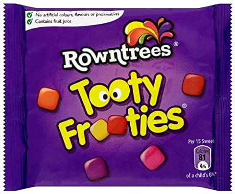 Rowntrees Tooty Frooties Small Pack 45 g (Pack of 36)