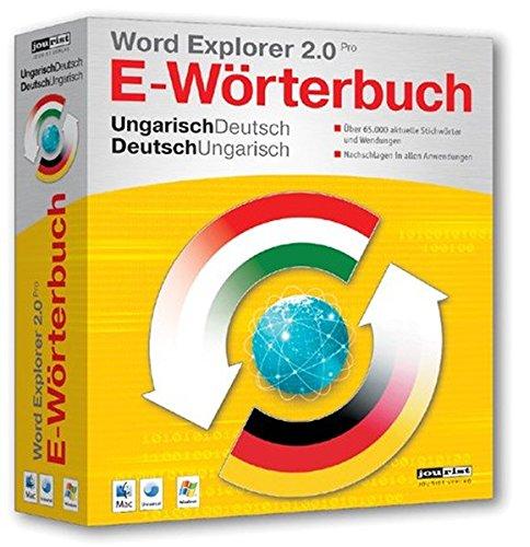 Word Explorer 2.0 Pro Ungarisch/Deutsch, Deutsch/Ungarisch