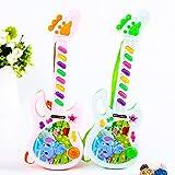 Gaddrt E-Gitarre Spielzeug Musikalisches Spiel Für Kinder Junge Mädchen Kleinkind Lernen Elektronisches Spielzeug Guitar