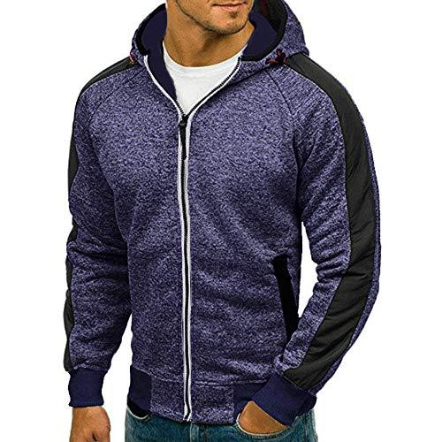 Sweat-Shirt Homme Chaud Manche Longue Hiver Sweats à Capuche Pas Cher Décontracté Survêtements Grande Taille Tops Outwear Blouson Veste Sport