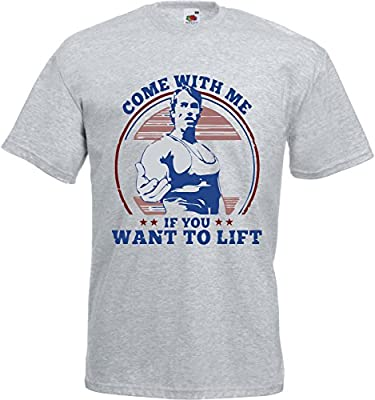 Come With Me If You Want To Lift Funny Gym Unisex T Shirt