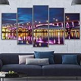 Leinwand Wandkunst Modulare Bild Wohnzimmer Dekoration 5