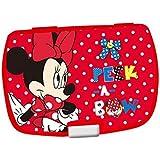 Sandwichera Minnie Disney Peek a Bow bandeja