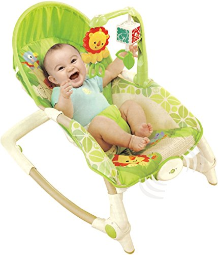 Toyshine Newborn to Toddler Rocker Musical Baby Rocking Chair With Vibration