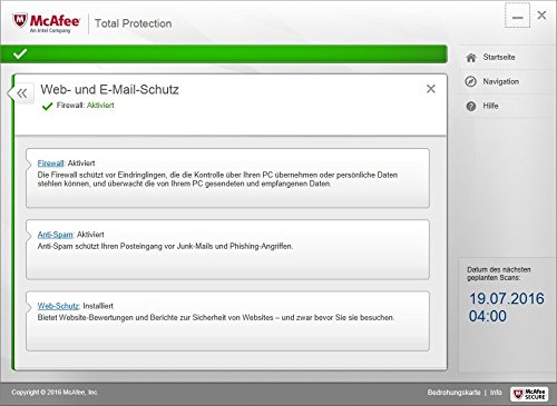 McAfee Total Protection 2017 | 5 Geräte | 1 Jahr | PC/Mac/Smartphone/Tablet | Download - 7