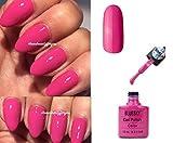 Best Pop Nail Polish Sets - Bluesky 80519 Hot Pop Pink Lipstick Nail Gel Review