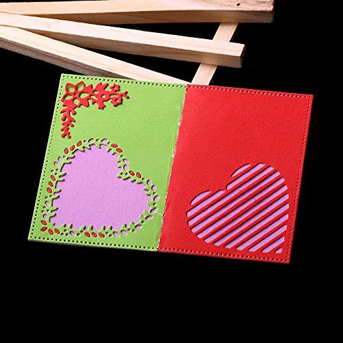 FNKDOR Scrapbooking Stanzschablone, prägemaschine Prägeschablonen Stanzformen Schablonen, Zubehör für Sizzix Big Shot und andere Stanzmaschine (G) (Halloween Hawaii-stil Happy)