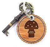 Mr. & Mrs. Panda Rundwelle Schlüsselanhänger Fliegenpilz - Fliegenpilz, Pilz, Glückspilz Schlüsselanhänger, Anhänger, Taschenanhänger, Glücksbringer, Schlüsselband