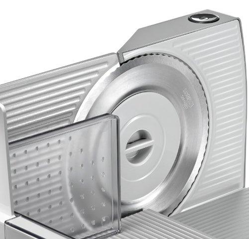 Siemens MS70002N Metall-Allesschneider, 120 Watt, silber-metallic -
