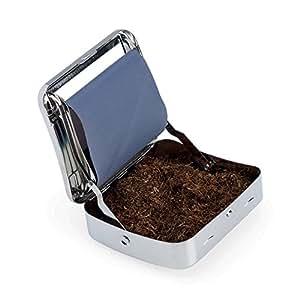 rouleaux et de tabac - Cigarette rouleuse - boîte en aluminium - Rolling box 77 MM