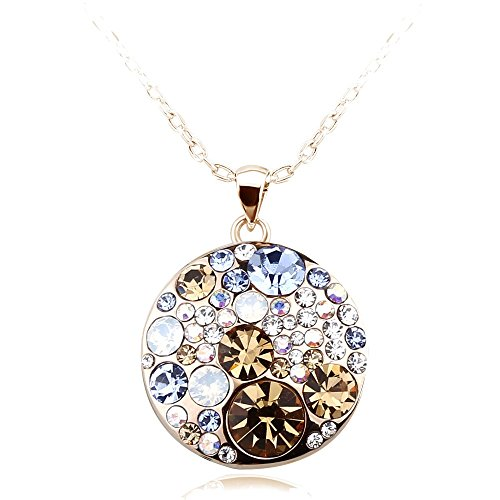 park-avenue-collier-disc-dore-rose-made-with-crystals-from-swarovski