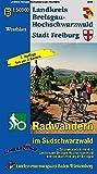 Landkreis Breisgau-Hochschwarzwald Stadt Freiburg: Radwandern im Südschwarzwald
