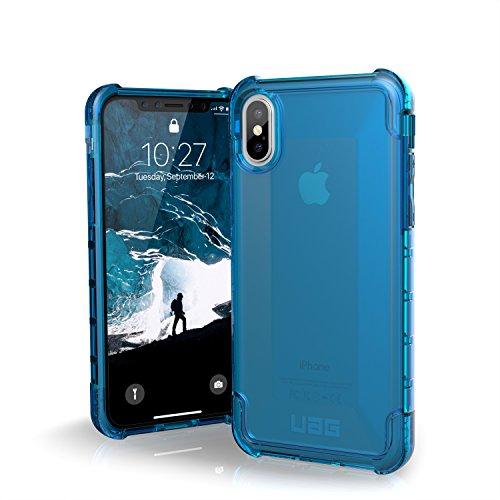 Urban Armor Gear Plyo per Apple iPhone Xs / X Custodia protettiva Cover con standard militare americano case [Compatibile con il Qi wireless] - blu