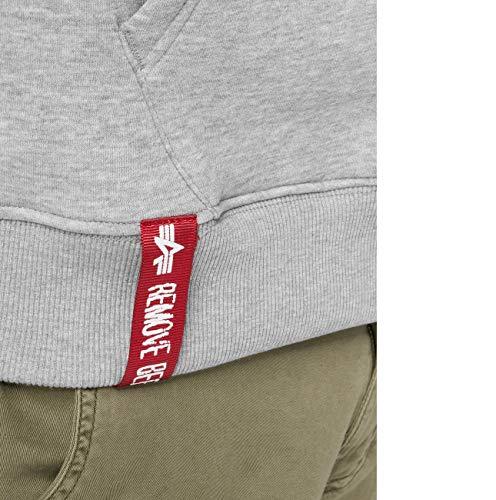 Alpha Industries Basic Zip Hoodie Grau L