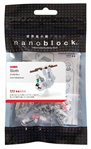 Nanoblock NAN-NBC122 Sloth