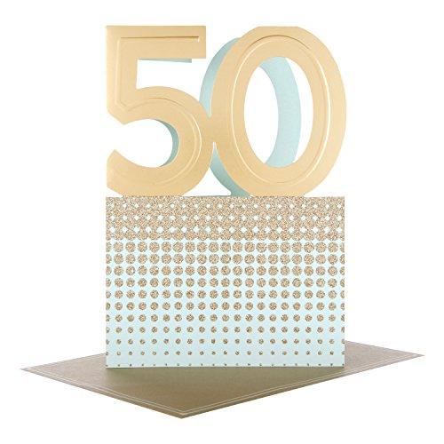 Hallmark 50th Birthday Studio Card