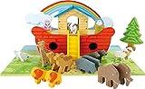 Small Foot 3120 - Spielset Arche Noah aus Holz