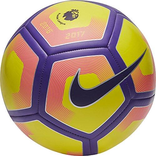 Nike Pitch Pl - Ballon, Couleur Jaune, Pitch Pl