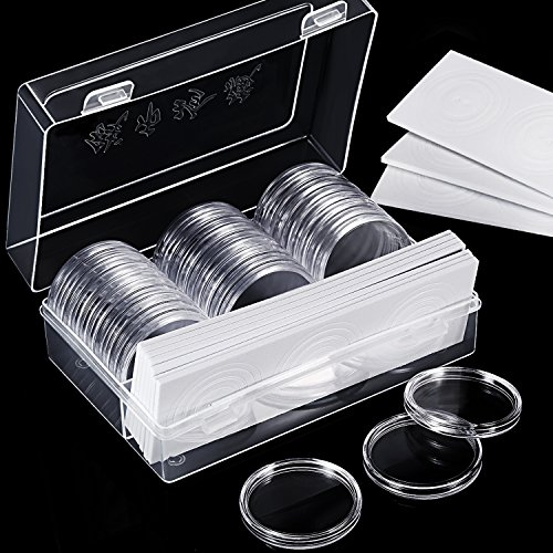 Hicarer Soporte Cápsulas Monedas 46 mm 8 Tamaños