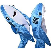 Dxlta Disfraz de Cosplay para adulto niños - Shark Stage Clothing Fancy Dress Halloween Christmas Props
