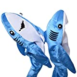 Dxlta Disfraz de Cosplay para adulto niños - Shark Stage Clothing Fancy Dress Halloween Christmas Props