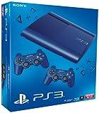 PS3 - Konsole Slim 12GB Azurite Blue (SuperSlim) inkl. 2 Dualshock-Controller Blue