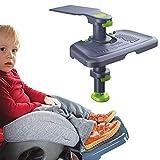 CX TECH Seggiolino Auto per Bambini Poggiapiedi Seggiolino Auto per Bambini Ginocchio Sedile rialzato Supporto per Cuscino Protettivo 0-11 Anni Bambino applicabile