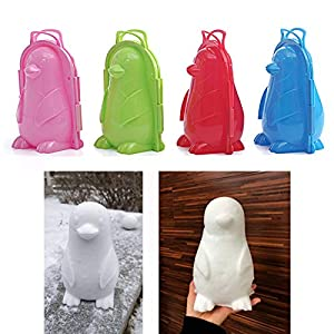 fuchsiaan Schöne Pinguin Form Winter Im Freien Schnee Spielen Form Werkzeug Kinder Spielzeug, Geschenk Für Kinds Enkel Spielen Schnee Spiel