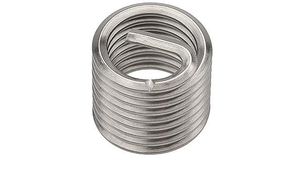 PowerCoil 3520-7.00X2.0DP M7 x 1.0 x 2.0D Wire Thread Inserts 10 Pack
