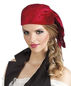 Boland Disfraz 81926Bandana Pirata para Adultos, One Size