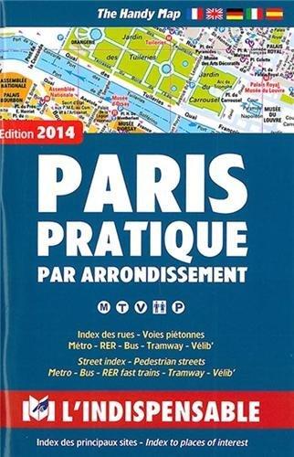 Paris Street (Plans de Paris: Paris street index and maps: Paris pratique par arrondissement by Pef(2010-11-01))
