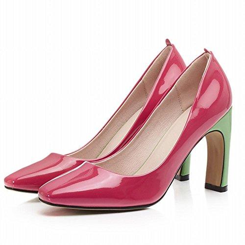 Mee Shoes Damen speziell heels Geschlossen vierkant Pumps Rot