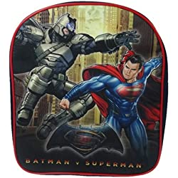 Batman Vs Superman Mochila infantil, negro (Negro) - BMVSM001003