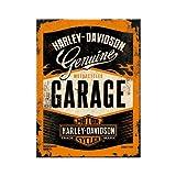 Nostalgic-Art 14332 Harley-Davidson - Garage, Magnet 8x6 cm