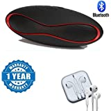 Drumstone Rugby Ball Shaped Wireless Hands-free Bluetooth Speaker With Earpod 3.5MM Handsfree Headset With Mic Compatible With Xiaomi, Lenovo, Apple, Samsung, Sony, Oppo, Gionee, Vivo Smartphones (One Year Warranty)