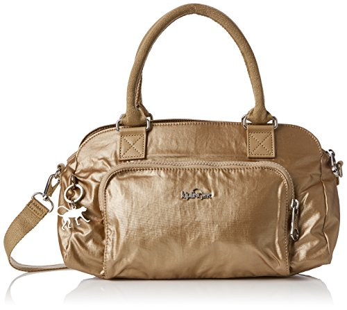 Kipling Damen Alecto Baguette, 31.5x19.5x16 cm Gold (Dusty Metal)