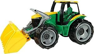 Lena GIGA Trucks 02057 vehículo de Juguete - Vehículos de Juguete (Azul, Verde, Amarillo, Tractor, Interior / Exterior, 3 año(s), Niño/niña, Europa)