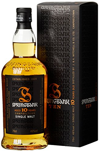 Springbank 10 Jährige Single Malt Whisky (1 x 0.7 l)