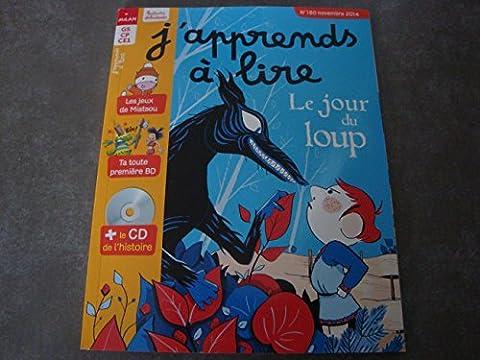 J'APPREND A LIRE N°180 GS CP CE1 + CD DE L'HISTOIRE