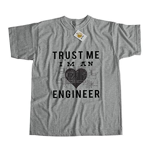 Engineer Shirt Trust Me I'm Engineer Tshirt Geek Tshirt Engineer Gift Unisex Top Tee Weiß