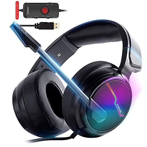 XIBERIA-V20 USB PS4 Headset, 7.1...