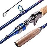 sports Canna da pesca all'aperto mare, Canne da pesca ultraleggera tiro lontano Attrezzatura di pesca pesca-A 2.1m