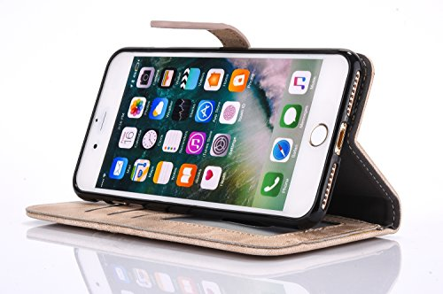 "Case pour iPhone 6S Plus Coque iPhone 6 Plus Etui iPhone 6 Plus / 6S Plus 5.5 Housse,Vandot ""Anti-Gravity Anti-Slip Couverture Selfie Universal Case Innovation auto-adhésives Housse Self-adhesive mobi broderie Art-1"