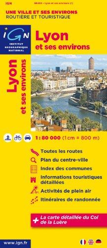 88403 Lyon et Ses Environs 1/80.000