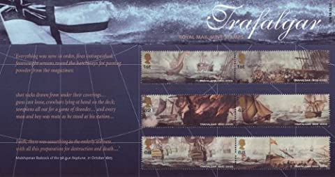2005 Battle of Trafalgar Presentation Pack Royal Mail