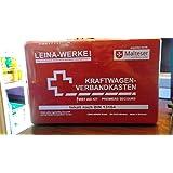 LEINA-WERKE LEINA KFZ-Verbandkasten Standard, Inhalt DIN 13164, schwarz